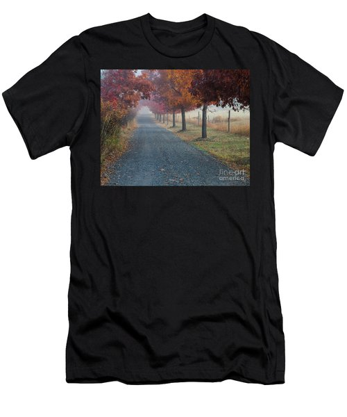 Autumn Portal Men's T-Shirt (Athletic Fit)