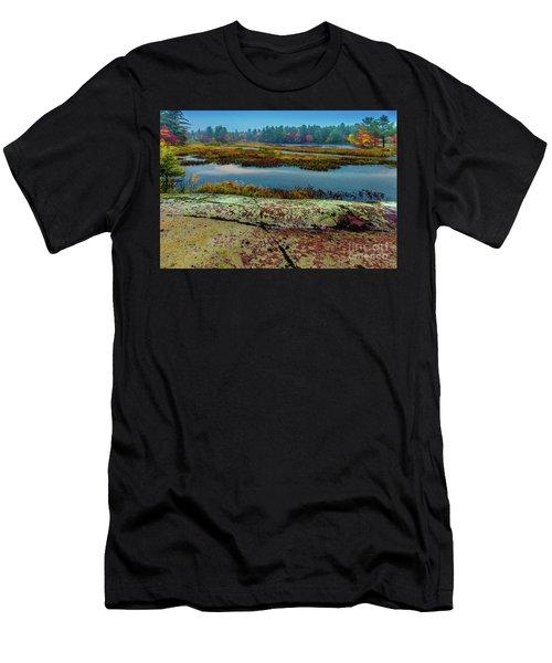 Autumn Rain 2 Men's T-Shirt (Athletic Fit)