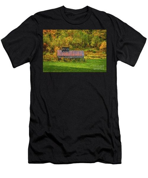 Autumn Rain 3 Men's T-Shirt (Athletic Fit)