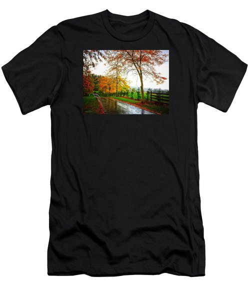Autumn Rains Men's T-Shirt (Athletic Fit)