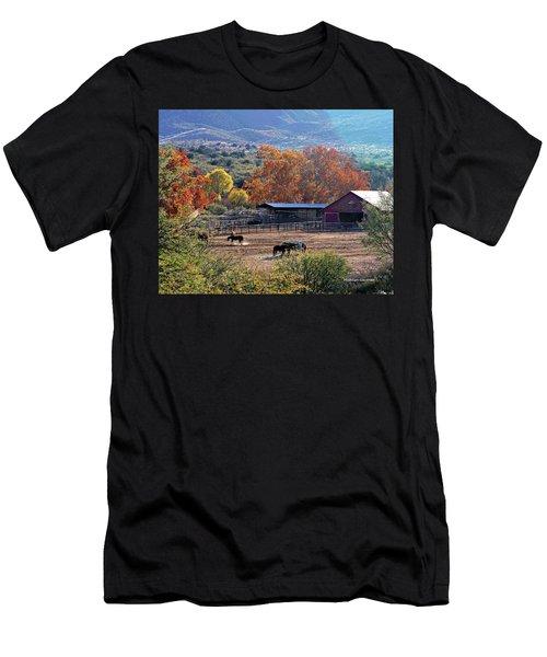 Autumn Ranch Men's T-Shirt (Athletic Fit)