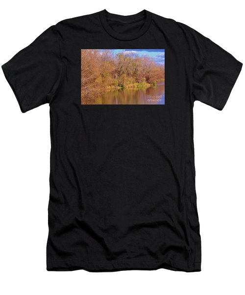 Autumn Reflections Men's T-Shirt (Athletic Fit)