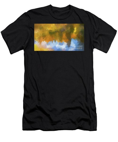 Men's T-Shirt (Athletic Fit) featuring the photograph Autumn Reverie by Bitter Buffalo Photography