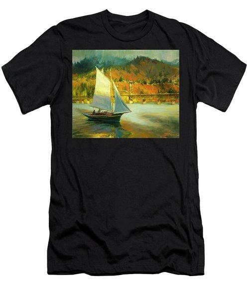 Autumn Sail Men's T-Shirt (Athletic Fit)