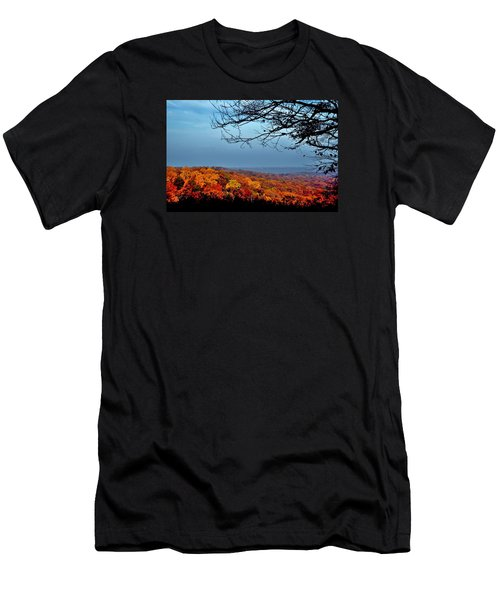 Autumn Shade Men's T-Shirt (Athletic Fit)