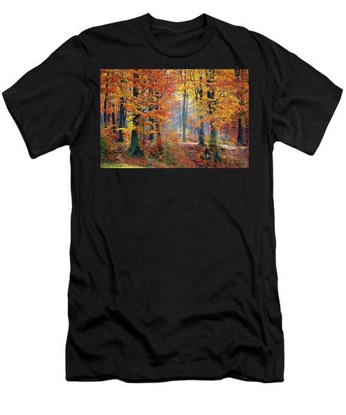 Autumn Splendour Men's T-Shirt (Athletic Fit)