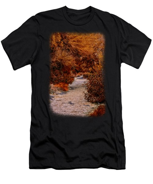 Autumn Stroll No23 Men's T-Shirt (Athletic Fit)