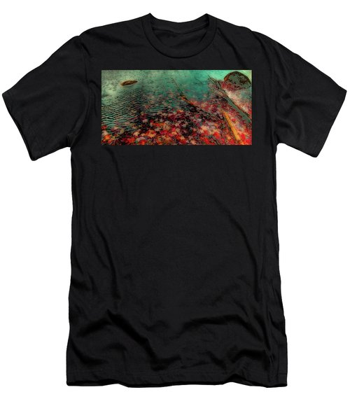 Men's T-Shirt (Slim Fit) featuring the photograph Autumn Submerged by David Patterson