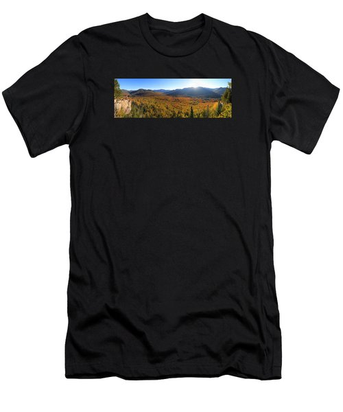 Autumn Sunset Over The Pemi Men's T-Shirt (Athletic Fit)