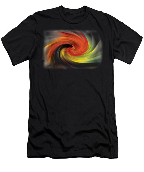 Autumn Swirl Men's T-Shirt (Athletic Fit)
