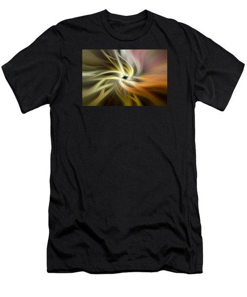 Autumn Swirls Men's T-Shirt (Athletic Fit)