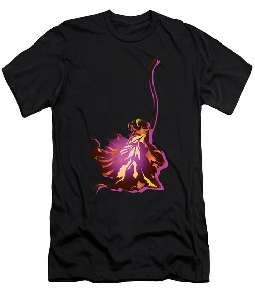 Autumn Sycamore Leaf Men's T-Shirt (Athletic Fit)