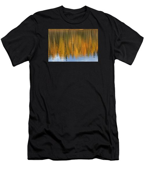 Autumn Tree Reflections Men's T-Shirt (Athletic Fit)