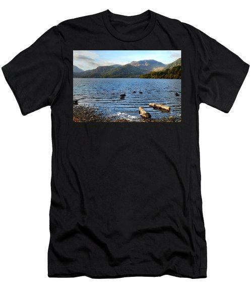 Autumn Ullswater  Men's T-Shirt (Athletic Fit)