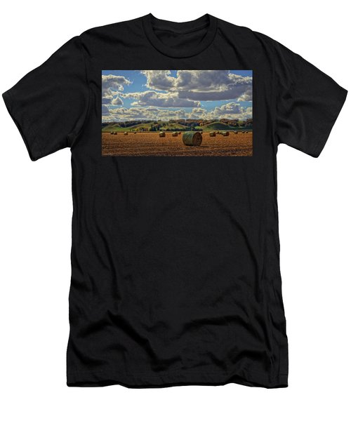 Autumn Valley Bales Men's T-Shirt (Athletic Fit)