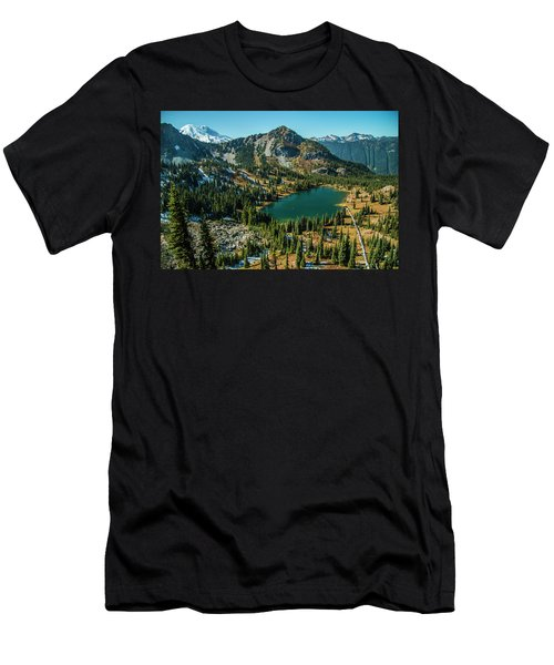 Autumn View Men's T-Shirt (Athletic Fit)