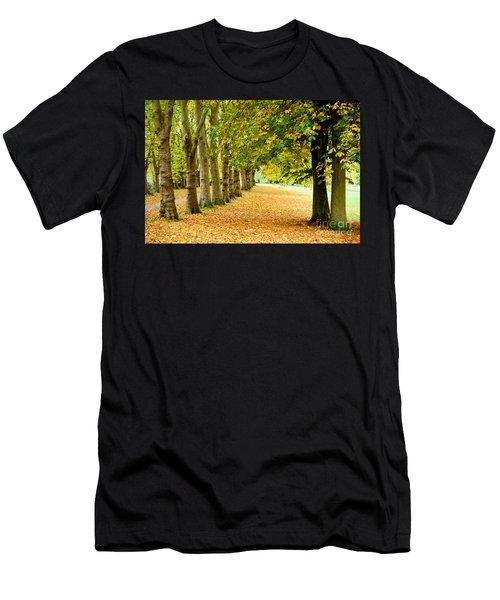 Autumn Walk Men's T-Shirt (Athletic Fit)