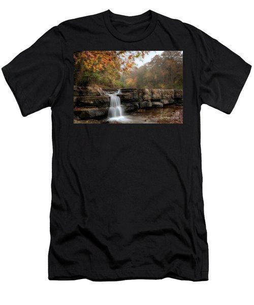 Autumn Water Men's T-Shirt (Athletic Fit)