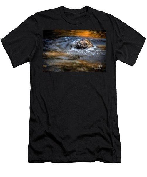 Autumn Waters Men's T-Shirt (Athletic Fit)