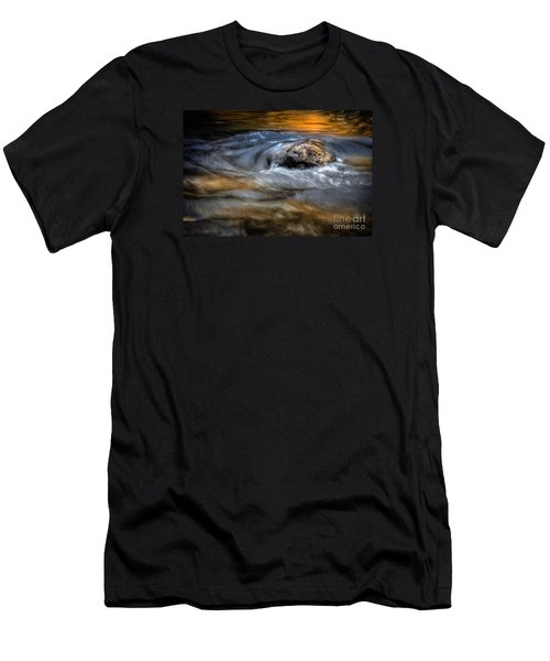 Autumn Waters Men's T-Shirt (Athletic Fit)