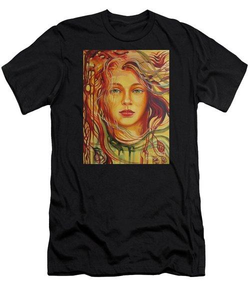 Autumn Wind 2 Men's T-Shirt (Athletic Fit)