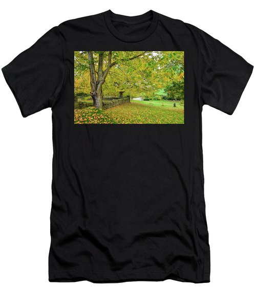 Autumn Wonderland Men's T-Shirt (Athletic Fit)