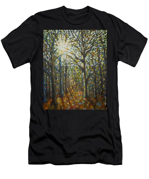 Autumn Wood Men's T-Shirt (Athletic Fit)