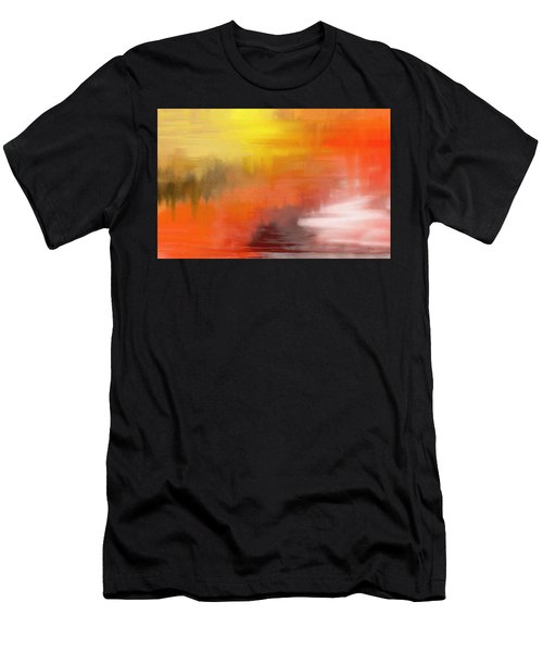 Autumnal Abstract  Men's T-Shirt (Athletic Fit)