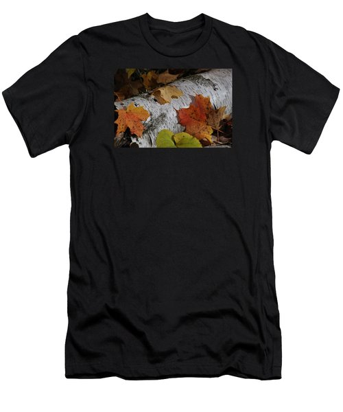 Autumnal Melange Men's T-Shirt (Athletic Fit)