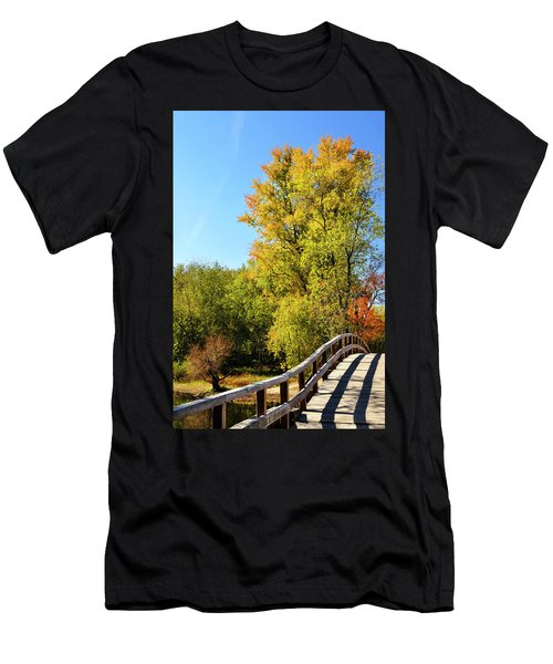 Autumnal North Bridge Men's T-Shirt (Athletic Fit)