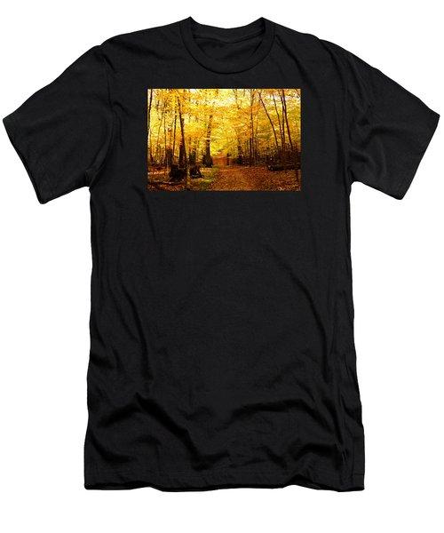 Autumns Blaze Men's T-Shirt (Athletic Fit)