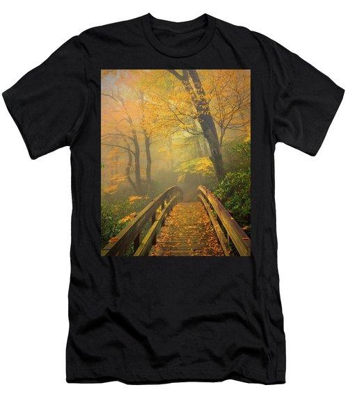 Autumn's Bridge To Heaven Men's T-Shirt (Athletic Fit)