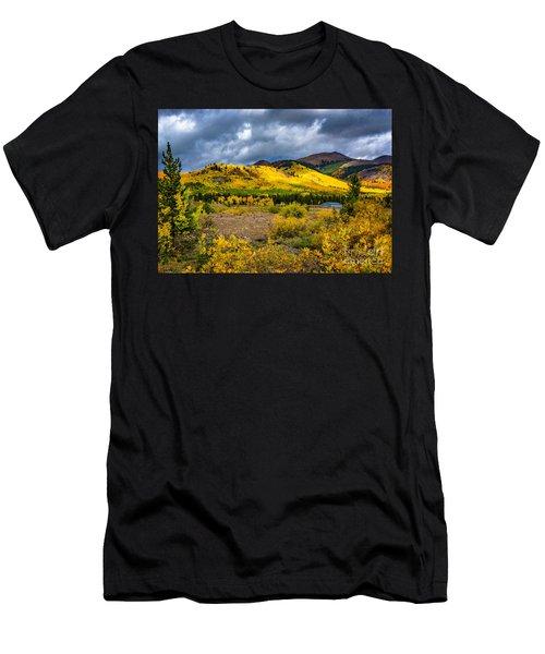 Autumn's Smile Men's T-Shirt (Athletic Fit)