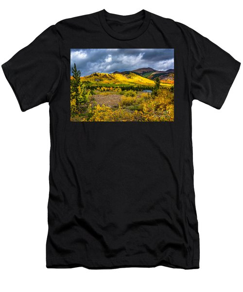 Autumn's Smile Men's T-Shirt (Athletic Fit)