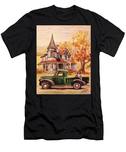 Autumn's Whispered Memories Men's T-Shirt (Athletic Fit)