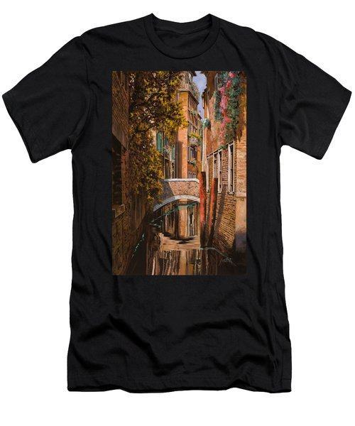autunno a Venezia Men's T-Shirt (Athletic Fit)