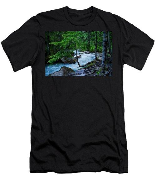 Avalanche Creek Men's T-Shirt (Athletic Fit)