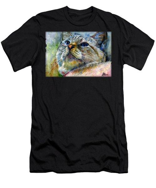 Avalon C Shirt Men's T-Shirt (Athletic Fit)