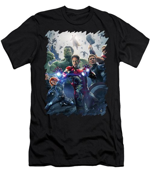 Avengers - Age Of Ultron Men's T-Shirt (Athletic Fit)