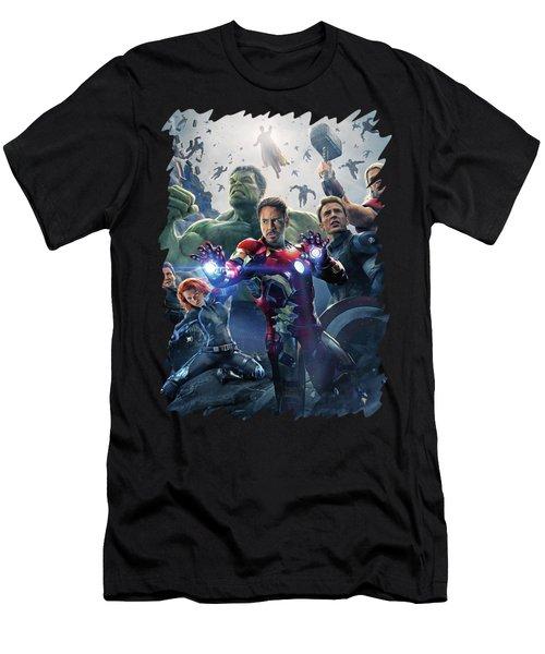 Avengers - Age Of Ultron Men's T-Shirt (Athletic Fit)