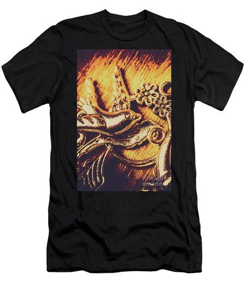 Avian Decor Men's T-Shirt (Athletic Fit)