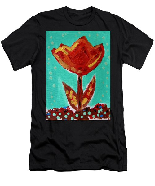 Avis-flowers From The Flower Patch Men's T-Shirt (Athletic Fit)