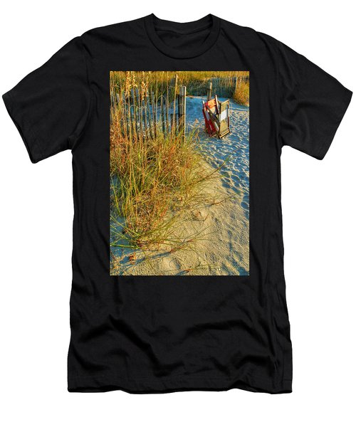 Awaiting Relaxation Men's T-Shirt (Athletic Fit)