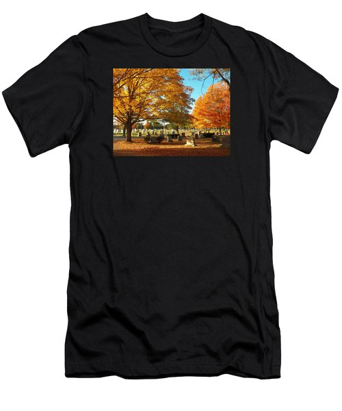 Awaiting Winter's Chill Men's T-Shirt (Athletic Fit)