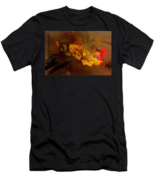 Awake Background Men's T-Shirt (Athletic Fit)
