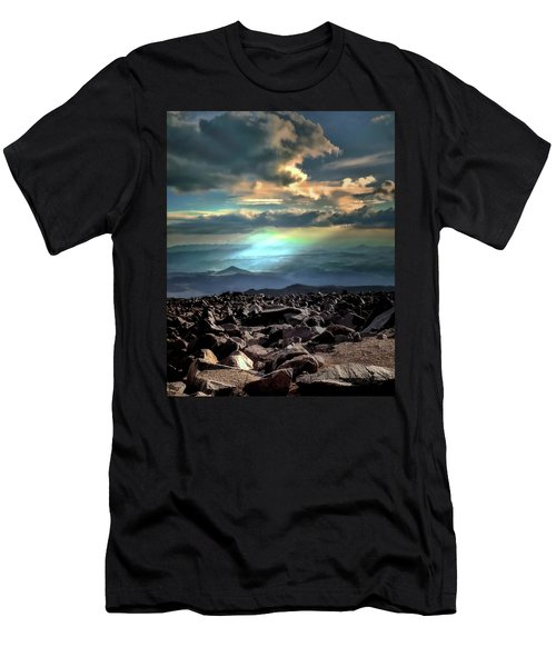 Men's T-Shirt (Slim Fit) featuring the photograph Awareness ... by Jim Hill