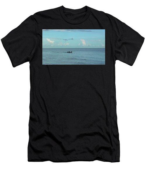 Away We Go Men's T-Shirt (Athletic Fit)
