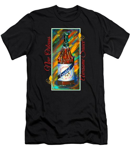 Awesome Sauce - Crystal Men's T-Shirt (Slim Fit) by Dianne Parks