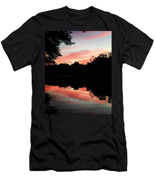 Awesome Sunset Men's T-Shirt (Athletic Fit)
