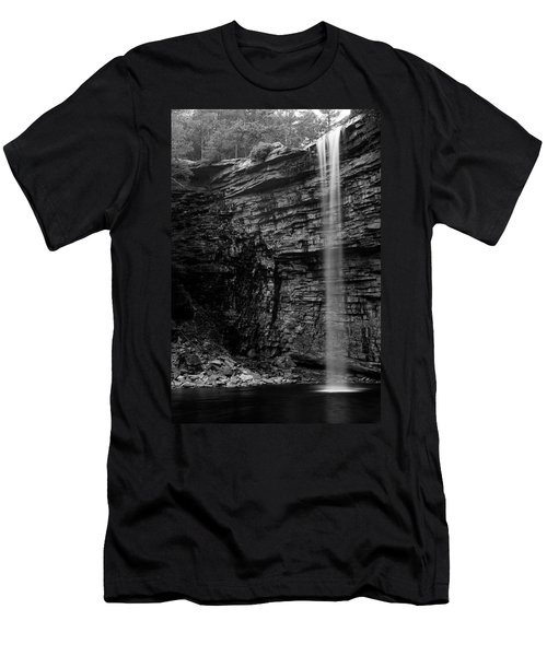 Awosting Falls In Spring #4 Men's T-Shirt (Athletic Fit)